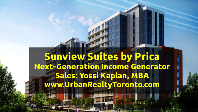 Sunview Suites Waterloo Investment Condos Render - Sales Call Yossi KAPLAN