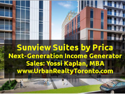 Sunview Suites Waterloo Investment Condos - Sales Call Yossi KAPLAN