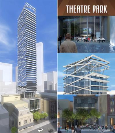 THEATRE PARK CONDOS FOR SALE - BUILDING