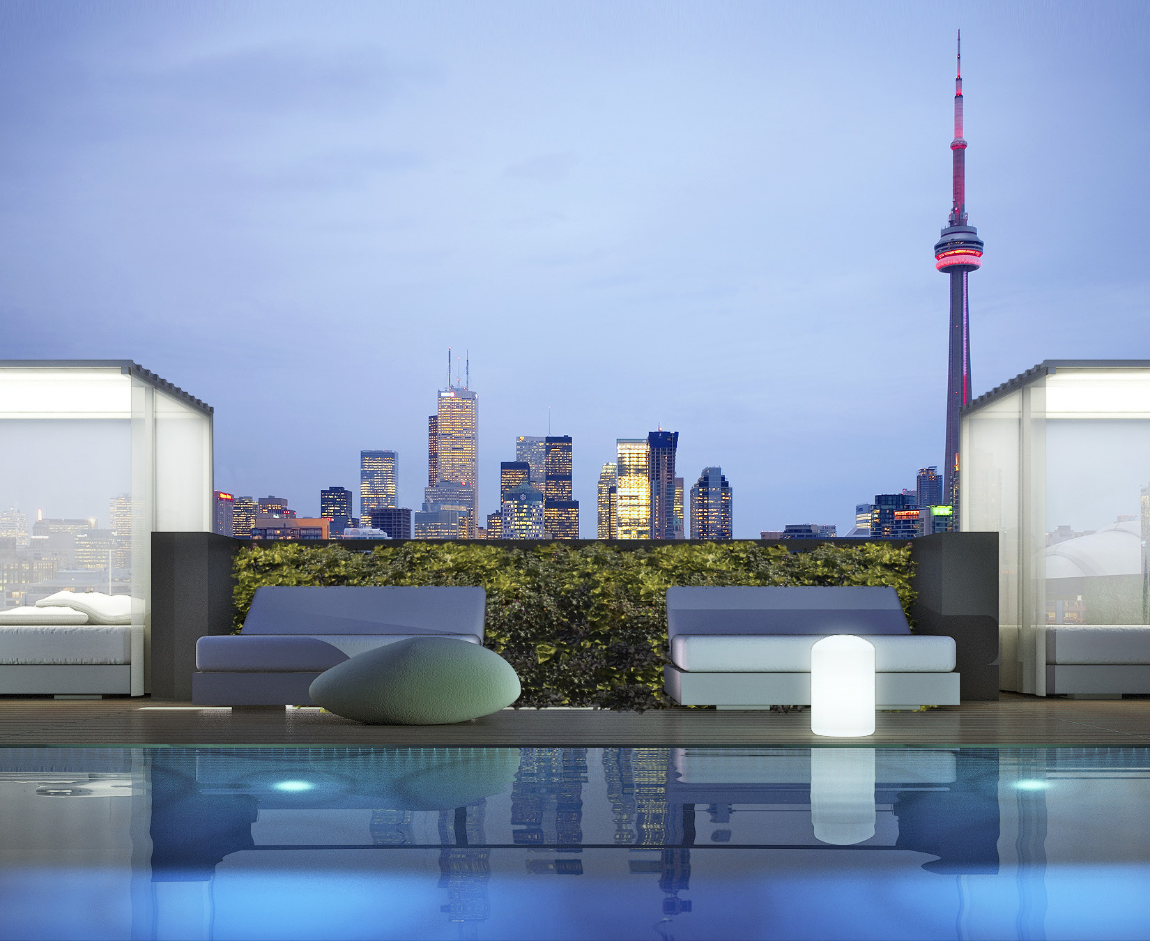 THOMPSON RESIDENCES - ROOFTOP POOL