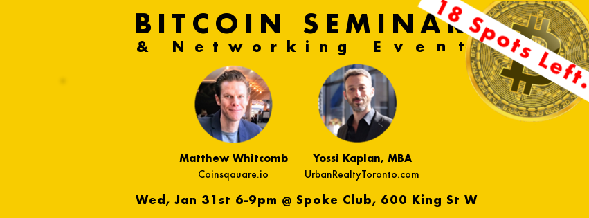 Bitcoin Seminar & Networking Event