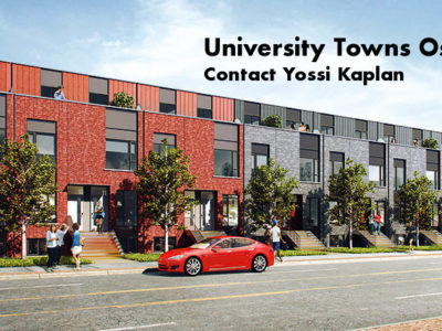 University Towns Oshawa - Condos for Sale - Contact Yossi Kaplan
