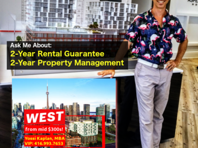 Investors VIP Special - King West w/ Rent Guarantee