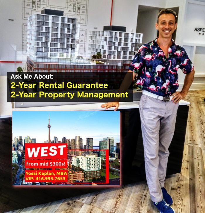 Investors VIP Special - King West w/ Rent Guarantee