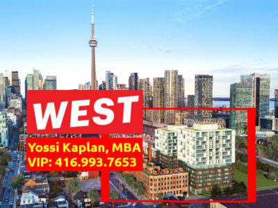 West Condos VIP Sale. Contact Yossi KAPLAN.