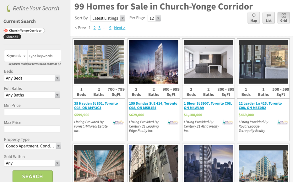 Yonge and Church Corridor Condos for Sale - Contact Yossi Kaplan