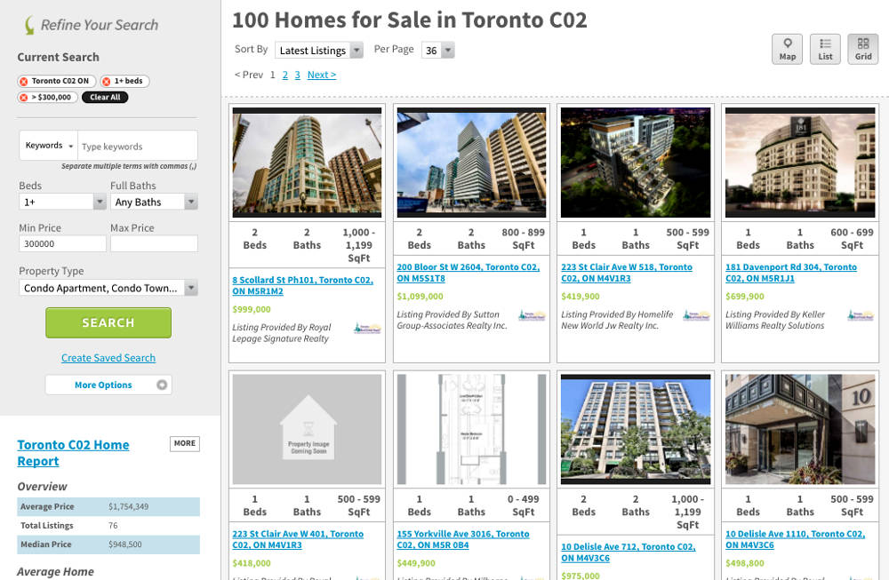 Yorkville Condos For Sale - Toronto C02 - by Yossi Kaplan