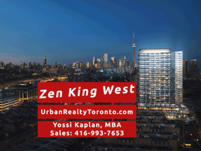 Zen King West Condos - Contact Yossi Kaplan