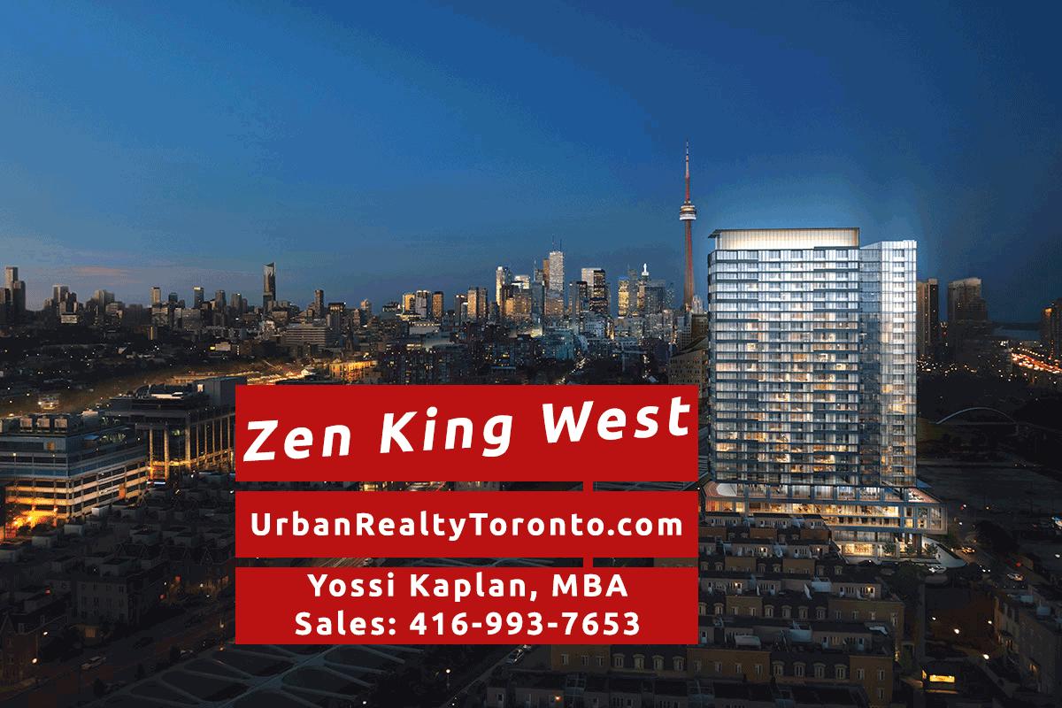 Zen King West Condos - Contact Yossi Kaplan