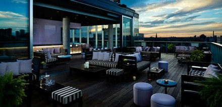 Thompson Residence Rooftop Terrace