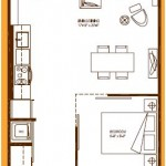 Burano Condos Large 1 Bed For Sale