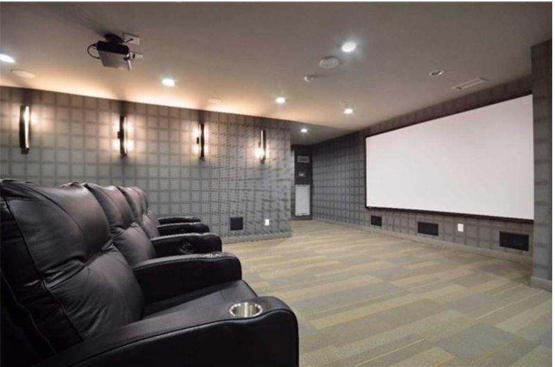 Pinnacle Condos - Theatre Room