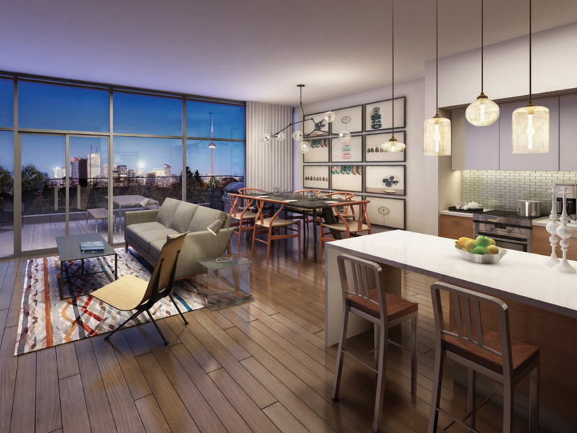 109 OSSINGTON CONDOS FOR SALE - TWO BEDROOM SUITE