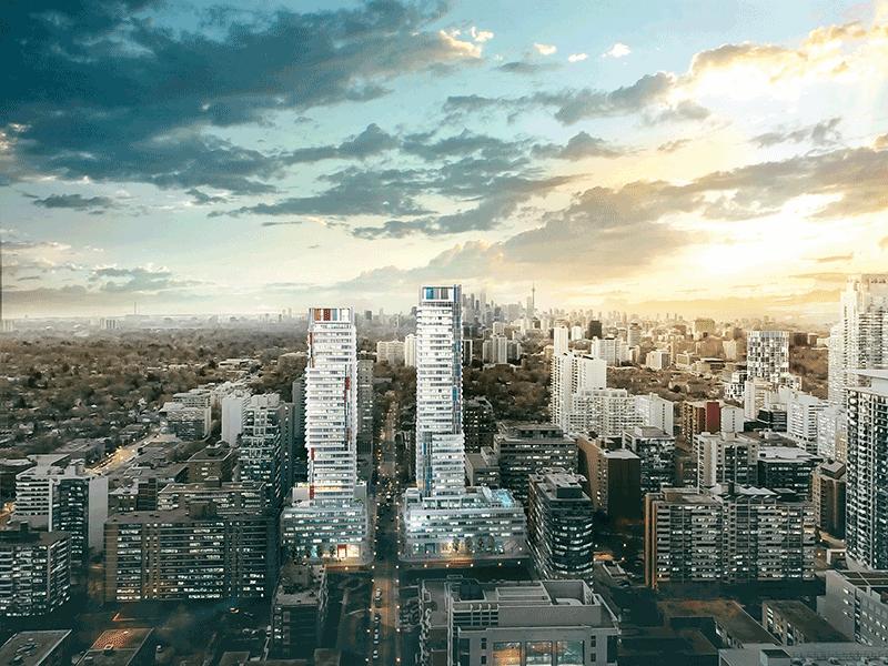 150 REDPATH CONDOS - NEW TOWERS DAYLIGHT - CONTACT YOSSI KAPLAN