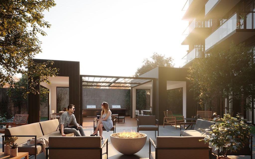 2306 Saint Clair Ave W - Stockyards District Residences - Rooftop - Yossi Kaplan -