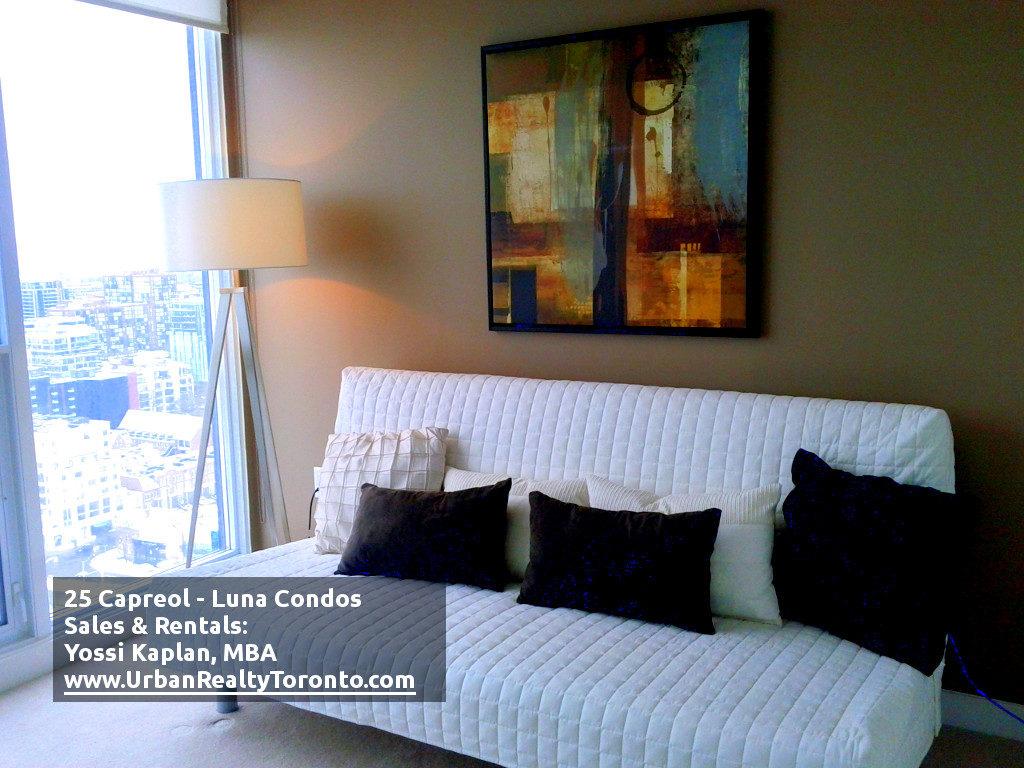 25 CAPREOL CONDOS FOR SALE - BEDROOM 2 - by Yossi Kaplan
