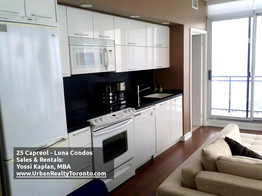 25 CAPREOL CONDOS FOR SALE - KITCHEN - by Yossi Kaplan