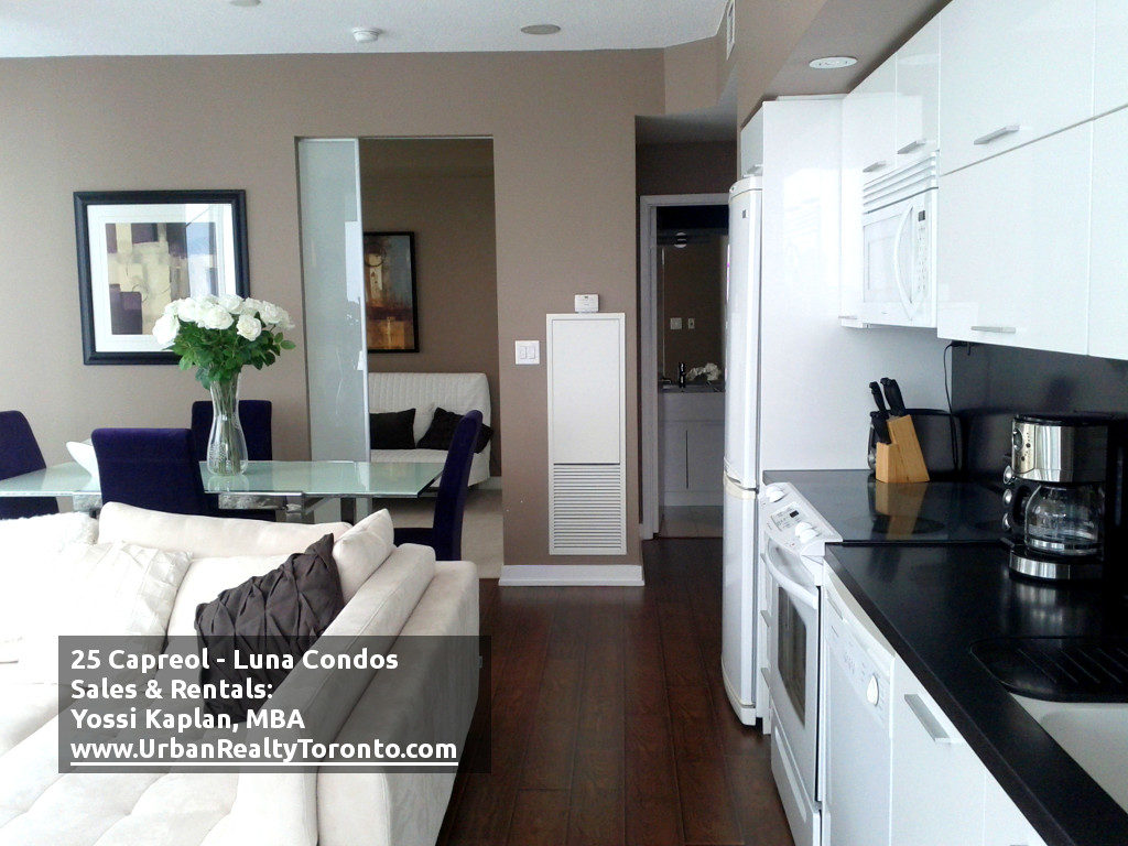 25 CAPREOL CONDOS FOR SALE - LIVING ROOM 2 - by Yossi Kaplan