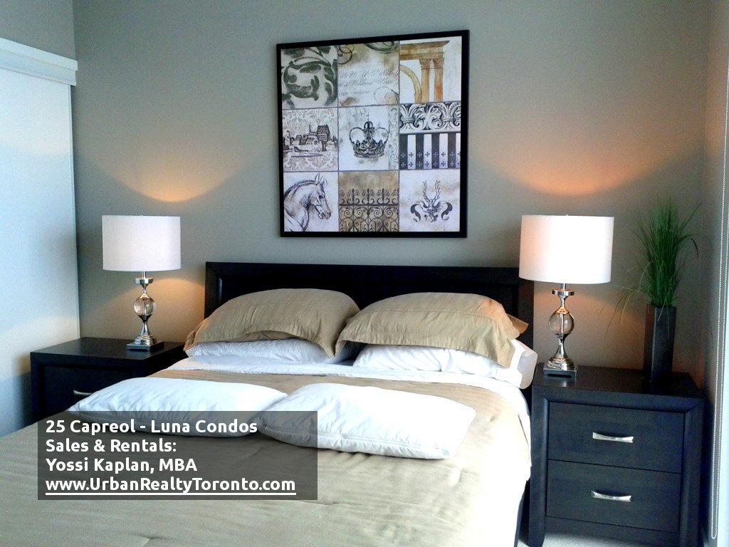 25 CAPREOL CONDOS FOR SALE - MASTER BEDROOM - by Yossi Kaplan
