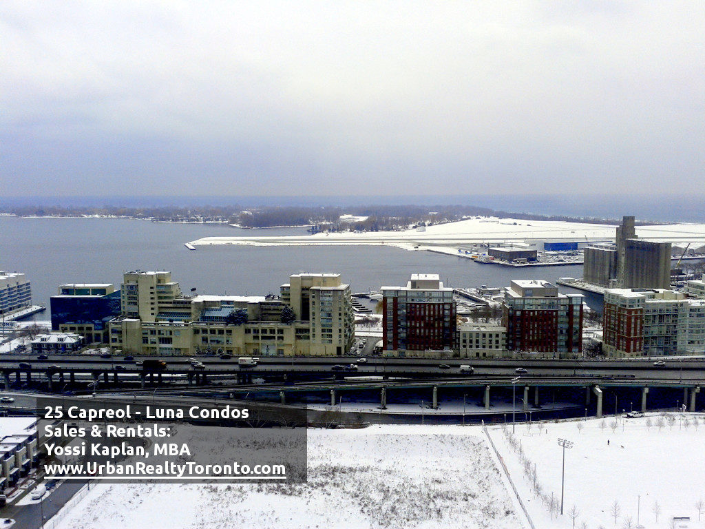 25 CAPREOL CONDOS FOR SALE - VIEW SOUTH WINTER - by Yossi Kaplan
