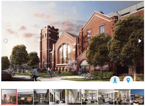 260 High Park Ave - Live in a Church - 2 bed 2 bath condo for sale - Call Yossi Kaplan
