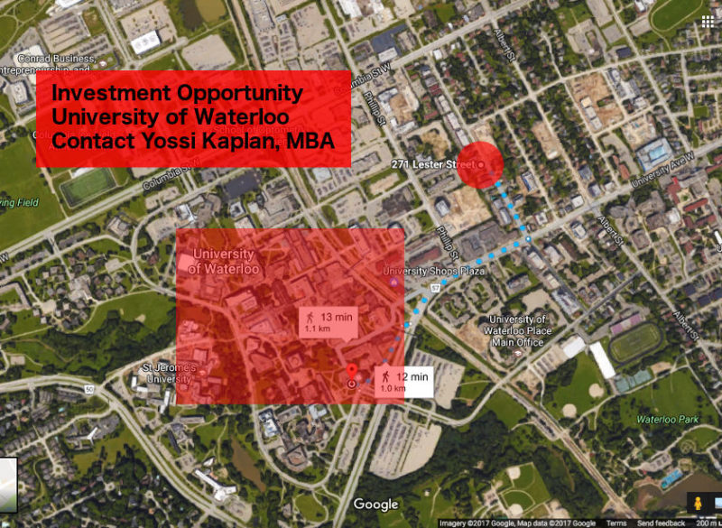 271 Lester St Waterloo For Sale - Investment Opportunity Contact Yossi Kaplan