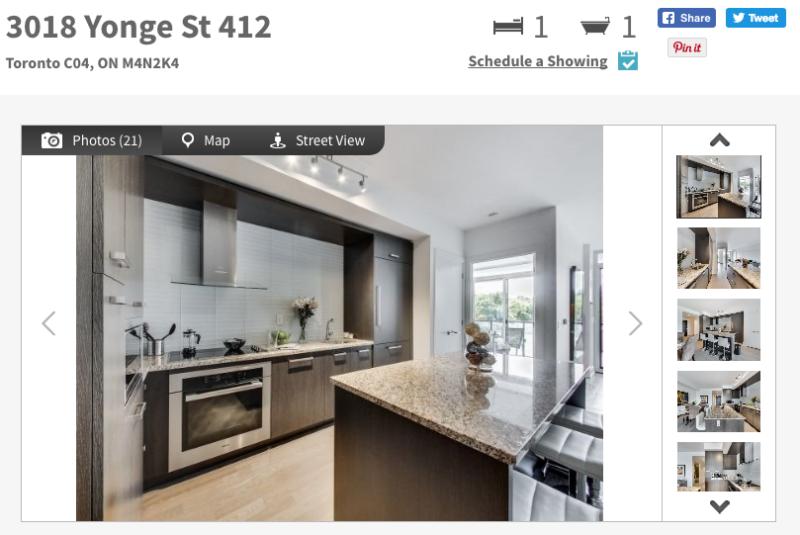 3018 Yonge St One Bedroom for Sale - Contact Yossi Kaplan
