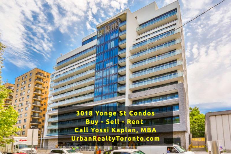 3018 Yonge Street Condos - Buy, Sell, Rent - Contact Yossi Kaplan