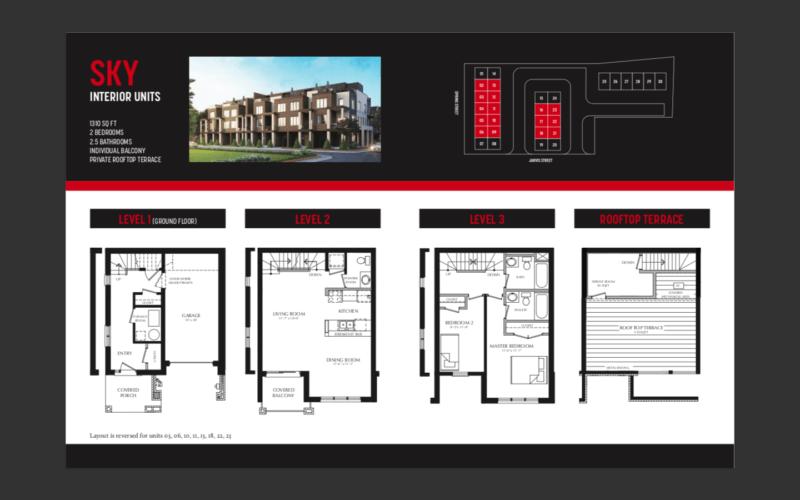 33 Jarvis Brantford - Sky Interior Floorplan - Sales call Yossi Kaplan, MBA
