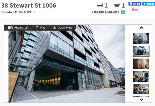 Condo for Sale @ 38 Stewart - Thompson Residences Toronto. Contact Yossi Kaplan.