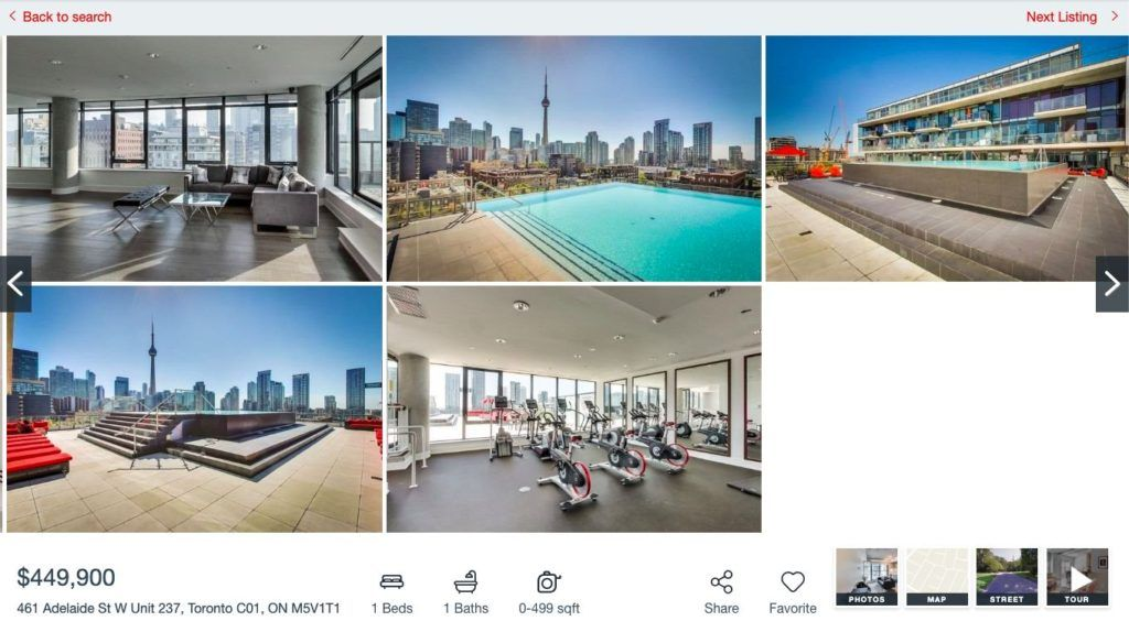 461 Adelaide Fashion House - One Bedroom Condo for Sale - Contact Yossi Kaplan