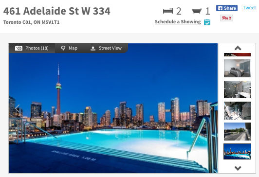 Condo for Sale @ Fashion House Condos 416 Adelaide St. West. Contact Yossi Kaplan.