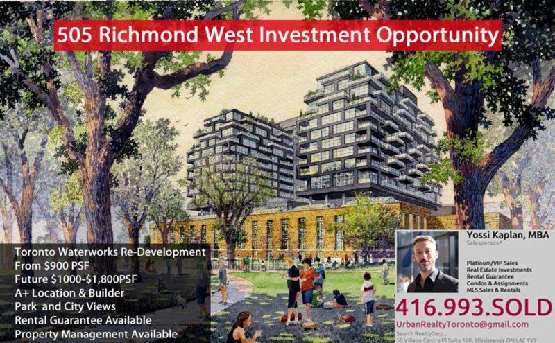 505 Richmond Condos for Sale - Call Yossi Kaplan