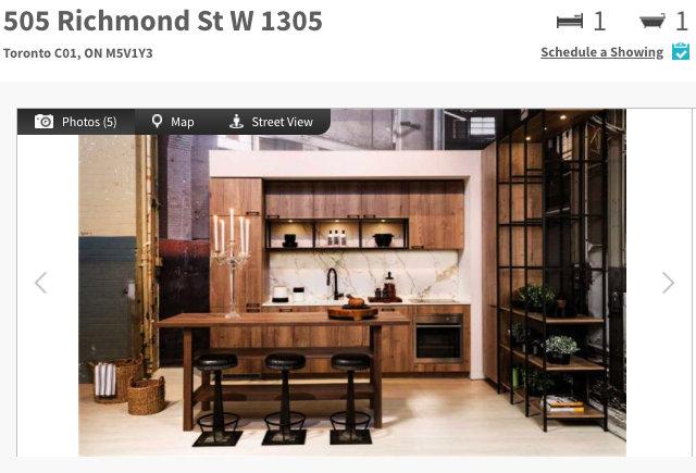 505 Richmond St W Condo for Sale (#1305)