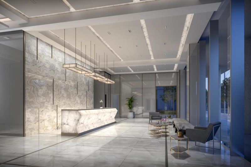 543 Richmond Condos Lobby. Buying or Selling? Call Yossi Kaplan MBA