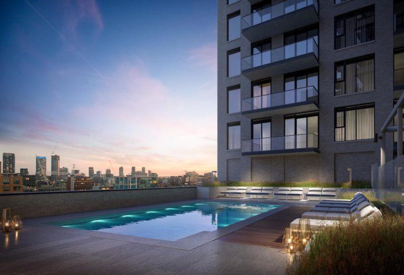 543 Richmond Condos Pool. Buying or Selling? Call Yossi Kaplan MBA