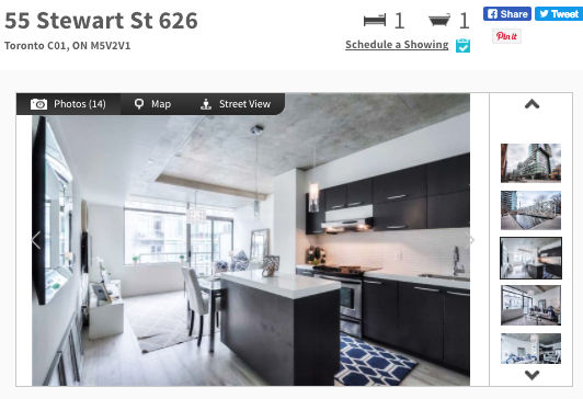 Beautiful Condo for Sale @ 55 Stewart - Thompson Residences Condos Toronto. Contact Yossi Kaplan.