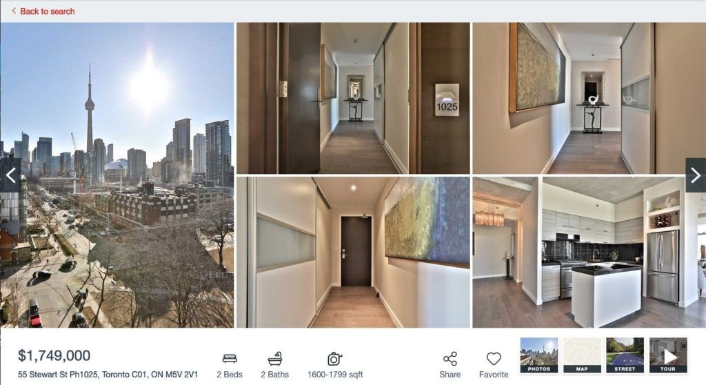 55 Stewart St Thompson - 2 Bedroom Condo for Sale - Contact Yossi Kaplan