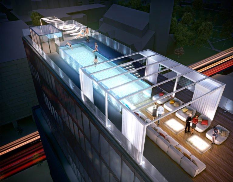 60 Colborne Condos for Sale - rooftop pool - Sales Yossi Kaplan