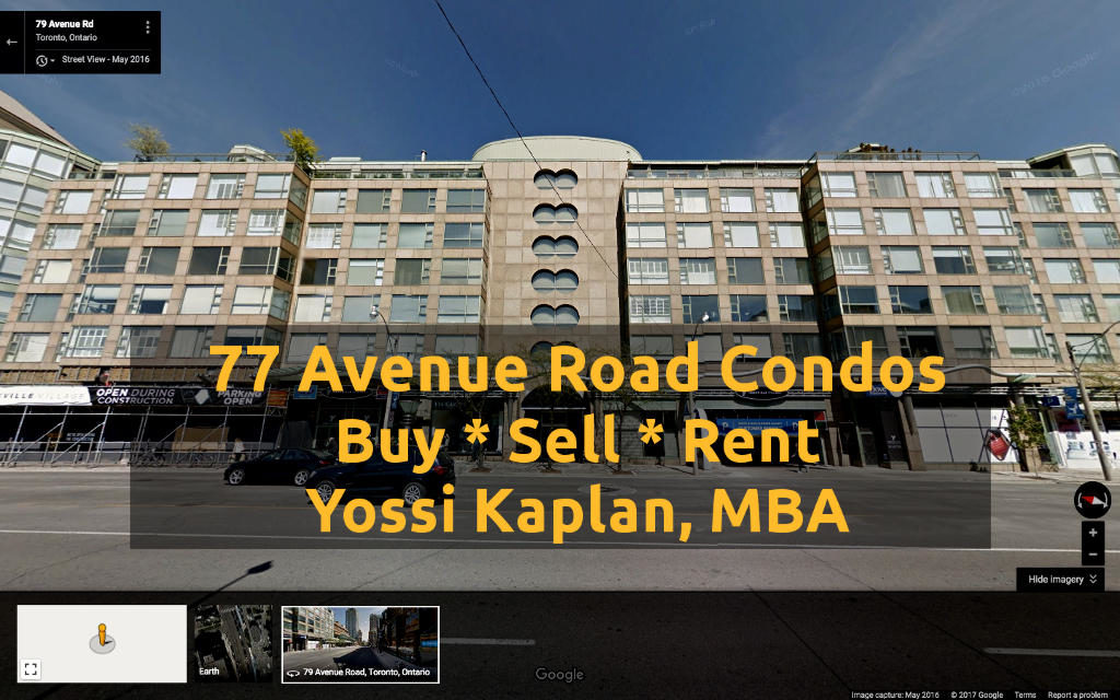 77 Avenue Road Condos for Sale. Buying or Selling at 77 Ave? Contact Yossi Kaplan