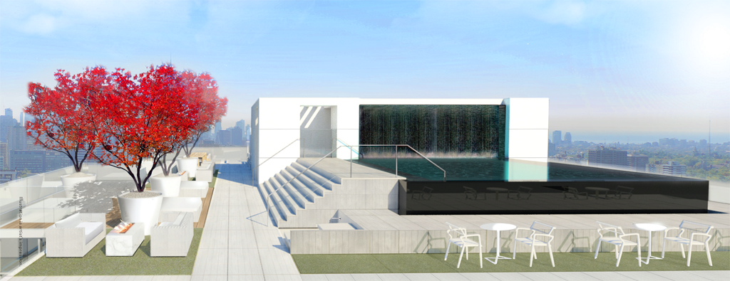 88 QUEEN CONDOS FOR SALE - INFINITY POOL TERRACE