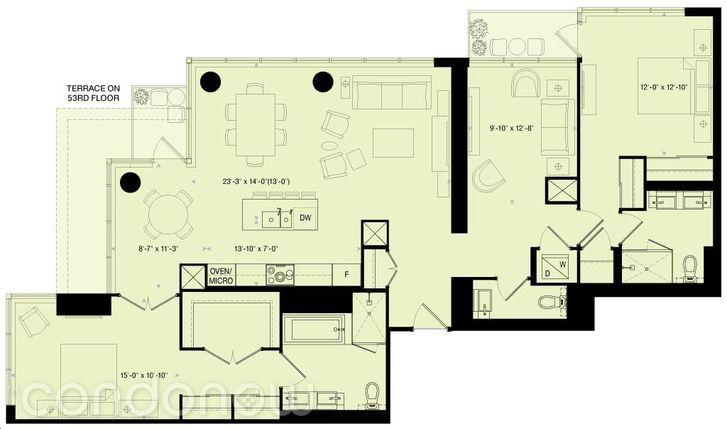 88 Scott St E18 Floorplan
