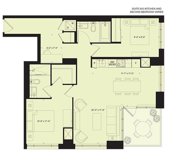 88 Scott St E2 Plan