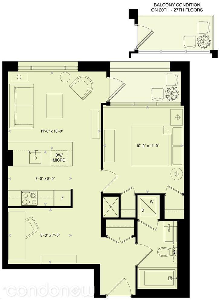 88 Scott St Floorplan