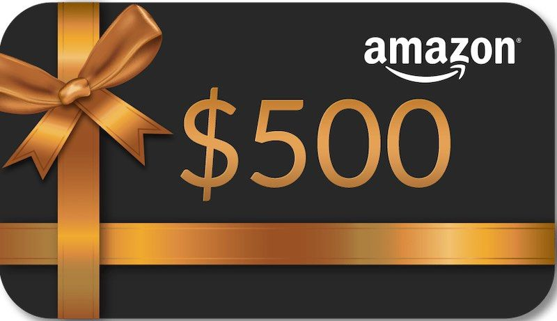 Amazon Gift Card $500 800px