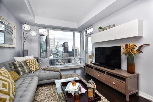 CINEMA TOWER CONDOS - PENTHOUSE LIVING ROOM - CALL YOSSI KAPLAN