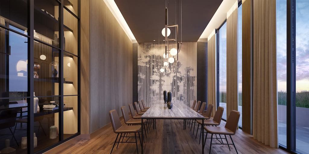 Crosstown Condos - Crowsstown One Dining Room - VIP Sales & Rentals by Yossi Kaplan, MBA