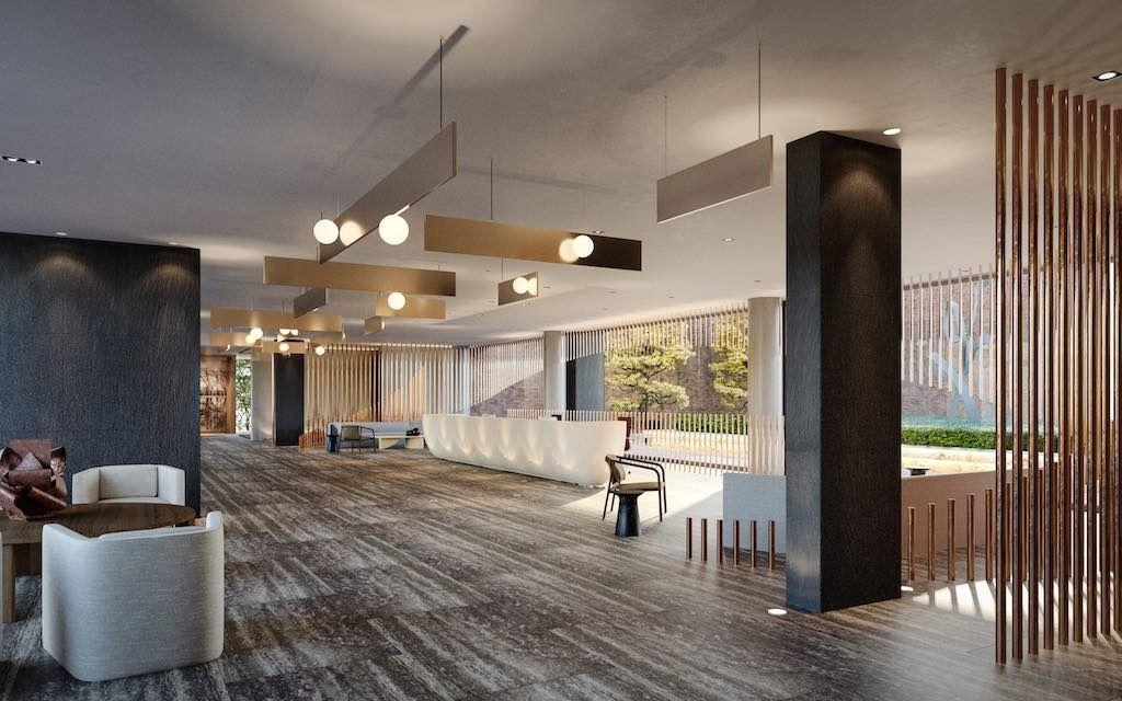 Crosstown Condos - Crowsstown One Lobby 2 - VIP Sales & Rentals by Yossi Kaplan, MBA
