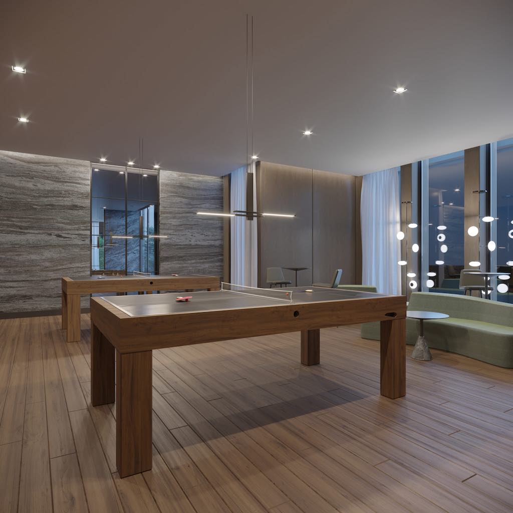 Crosstown Condos - Crowsstown One Ping Pong Room - VIP Sales & Rentals by Yossi Kaplan, MBA
