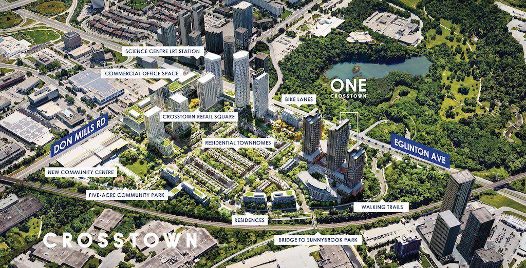 Crosstown Condos - Master Site Plan - VIP Sales Yossi Kaplan, MBA